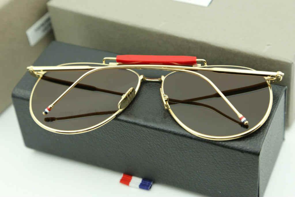 Brug de fede Thom Browne solbriller til mænd og kvinder