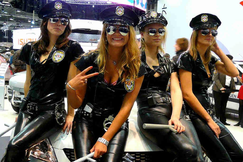 Police solbriller til kvinder