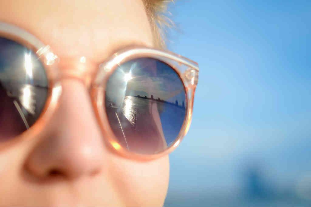 Polaroid solbriller til kvinder
