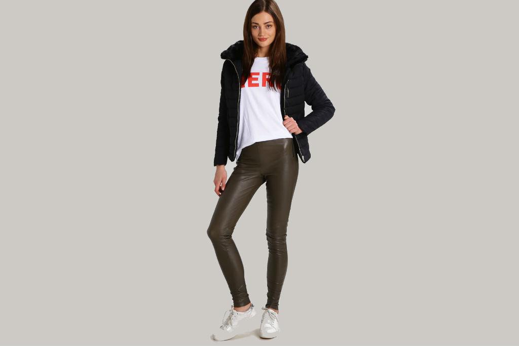 Køb de fede Selected Femme læderbukser til kvinder